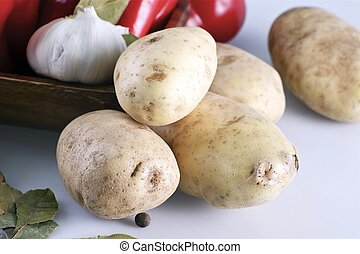 감자, 유기체의