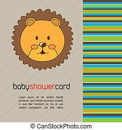 갓난 아기를 축하하는 모임, 카드