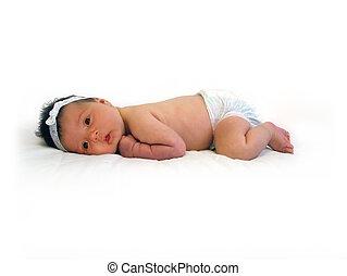 갓난 여자 아기