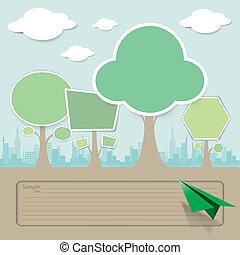 개념, 벡터, 나무