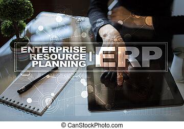 개념, 사업, 계획, 기업, 기술, 자원