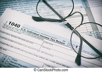 개념, 재정, 형태, 세금, glasses., 우리