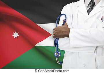 개념, 한 나라를 상징하는, -, 체계, 요르단, 건강 관리