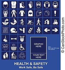 건강과 안전, 표시