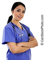 건강관리 직원