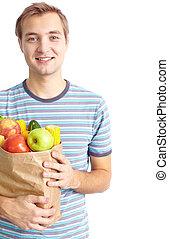 건강에 좋은 음식, 먹는 사람