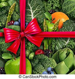 건강에 좋은 음식, 선물