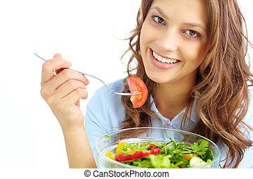 건강한, 영양