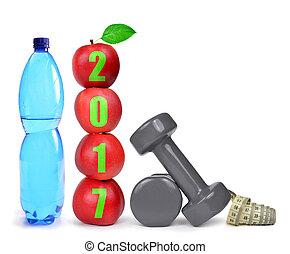 건강한, resolutions