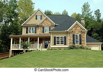 건물, 새로운 가정