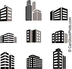 건물, 아이콘