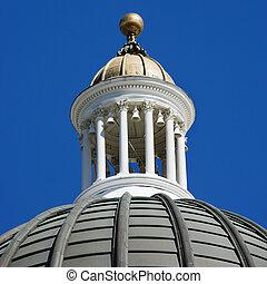 건물, dome., 국회 의사당