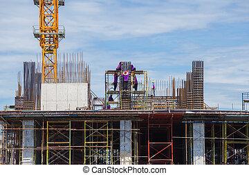 건설 직원, 위치, 일
