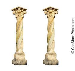 건축상이다, 백색, 란, 2, 배경