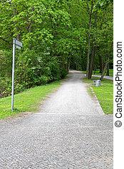 걷기, 좁은 길