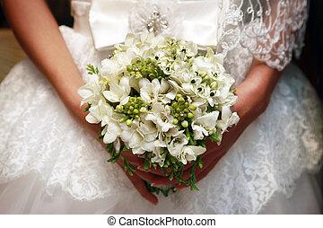 결혼식 꽃다발