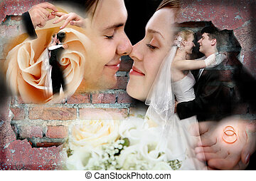 결혼식, 콜라주