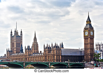 경계표, 런던