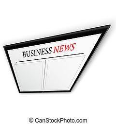 경제 뉴스, 통하고 있는, 알약 pc