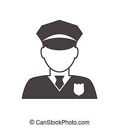 경찰관, avatar, 아이콘