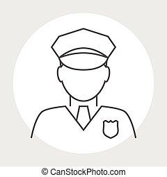경찰관, avatar