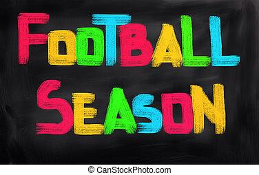 계절, 개념, 축구