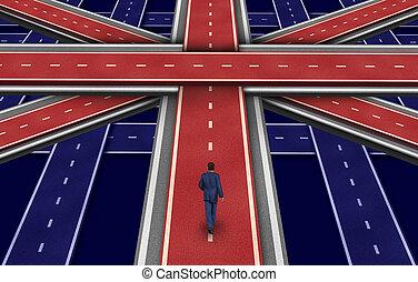 계획, british
