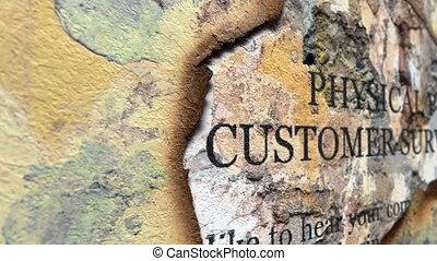 고객, 측량, 계획