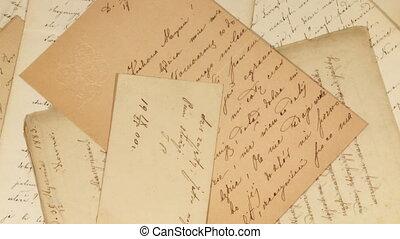 고물, 편지
