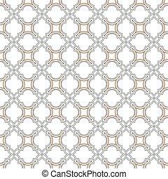 고운, seamless, 패턴, 에서, 이슬람교, 스타일
