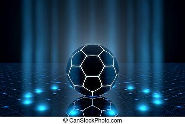공, spotlit, 단계
