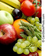 과일, 와..., 야채