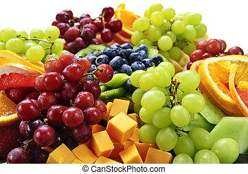 과일, 쟁반