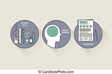 과정, 개념, 디자인