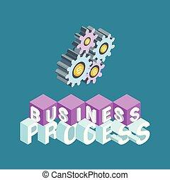 과정, 개념, 사업