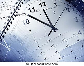 관리, 시간