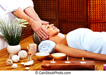 광천, massage.