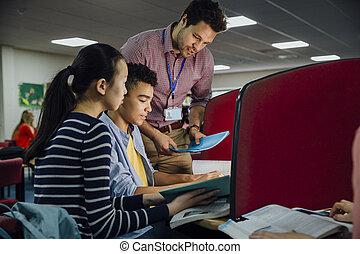 교실, 컴퓨터 일