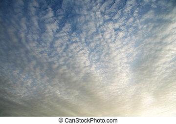 구름, 배경