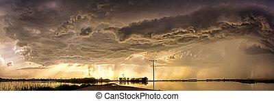 구름, 폭풍우