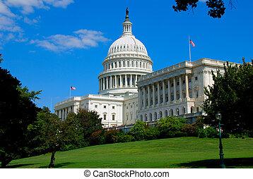 국회 의사당, 에서, 워싱톤 피해 통제