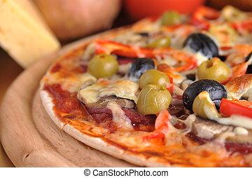 굽신선한, 피자
