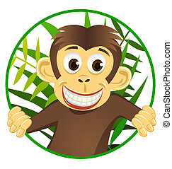 귀여운, 원숭이