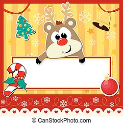 귀여운, 크리스마스 카드