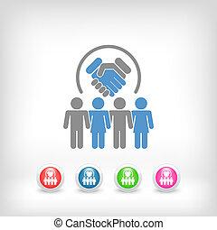 그룹, 동의, 협정, 계약