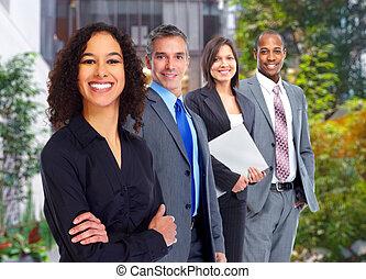 그룹, 의, 사업, 사람.