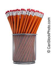 그룹, 의, 연필