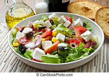 그리스 사람 샐러드