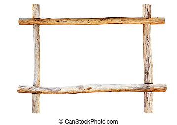 그만큼, 구조, 만든, 에서, 오크, 통나무