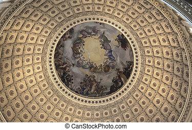 그만큼, 미국 미 국회의사당, 원형건물
